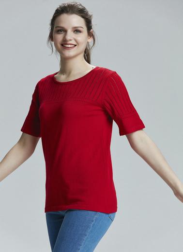 Love My Body Kazak Kırmızı